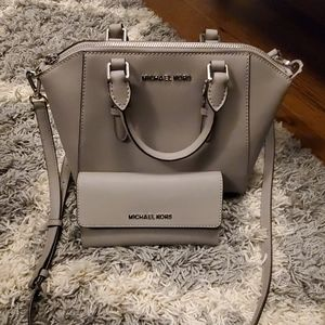 Michael kors crossbody and wallet